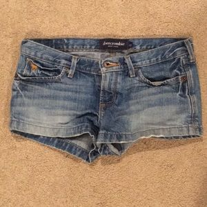 Abercrombie girls jeans shorts